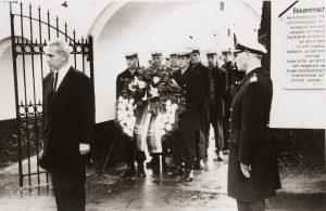 Friedrich Berg III, Anfang der 1960er Jahre, Friedhof Adelby
