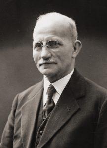 Friedrich Berg I, um 1950