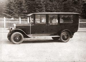 Opel Blitz, unser erster motorisierter Leichenwagen, 1923